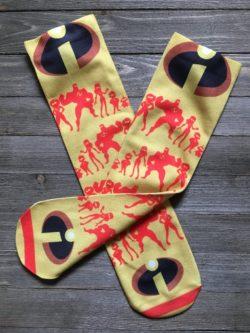 Incredibles Superhero Socks