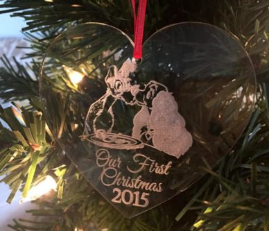 Lady and the Tramp Christmas Ornament