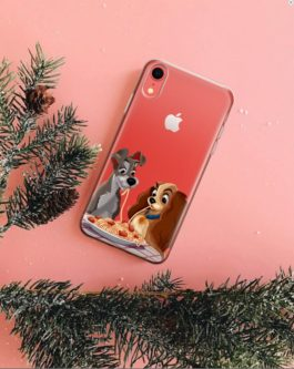 Lady and the Tramp Phone Clear Case