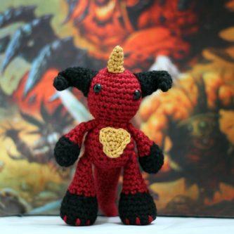 Lord of Terror Crochet Doll