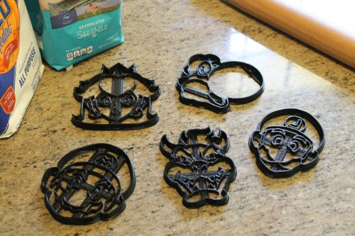 Mario Cookie Cutters