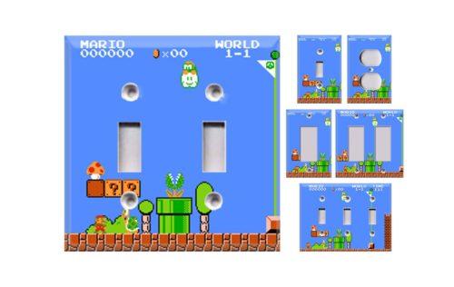 Mario Wall Plates
