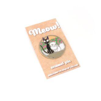 Meow Enamel Pin