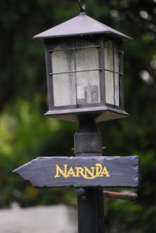 Narnia Directional Sign