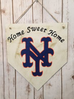 New York Mets Handmade Sign