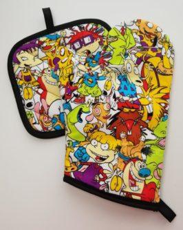 Nicktoons Oven Mitt and Potholder