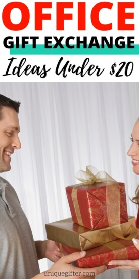Gift Exchange   Gift Exchange Ideas   Under 20& Office Gifts   Office Gifts   Office Gift Ideas   Office Themed Gifts   Gifts for Co Workers   #officegifts #giftexchange #under20$ #20$gifts