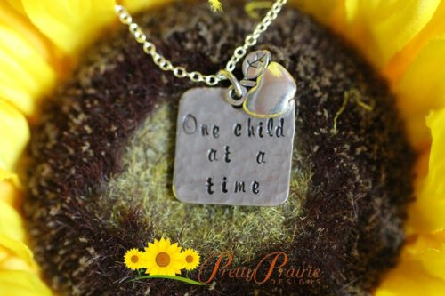 One Child at a Time Necklace