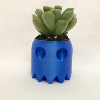 Pac-Man Ghost Planter