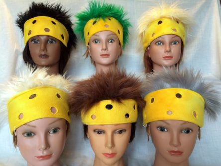Cheesehead headband green bay packers accessory