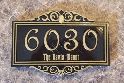 Personalized Door Sign