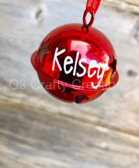 Personalized Jingle Bell Ornament