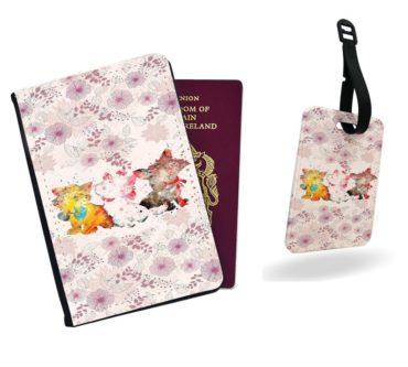 Pink Aristocats Passport Cover