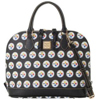Pittsburgh Steelers inspired logo designer purse