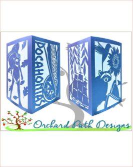 Pocahontas Paper Lantern