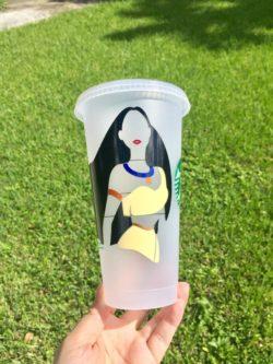 Pocahontas Starbucks Cup