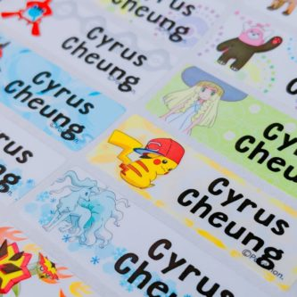 Pokemon Labels