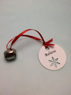 "Polar Express Bell with ""Believe"" Tag"