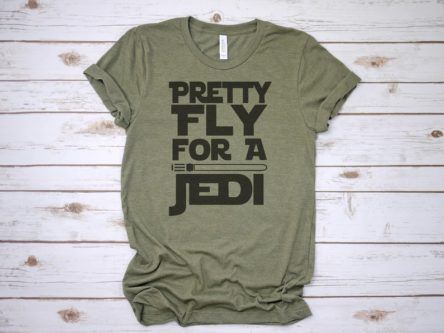 Pretty Fly for a Jedi Shirt