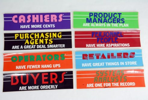retail worker bumper stickers funny
