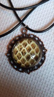 Python Skin Necklace