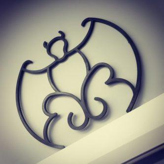 Replica Bat Ornament