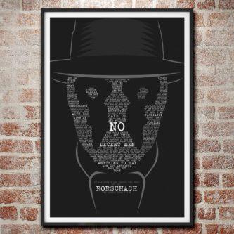 Rorschach No poster