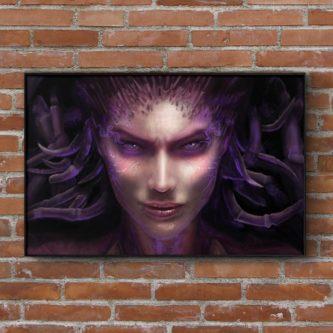 Sarah Kerrigan Art Print (Starcraft)