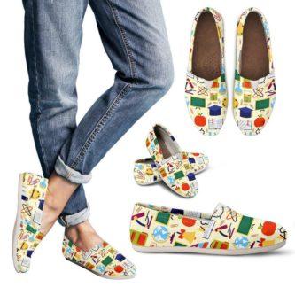 School Teacher Canvas Shoes