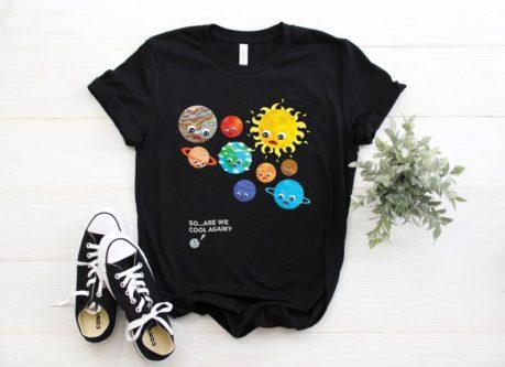 Kids solar system T-shirt