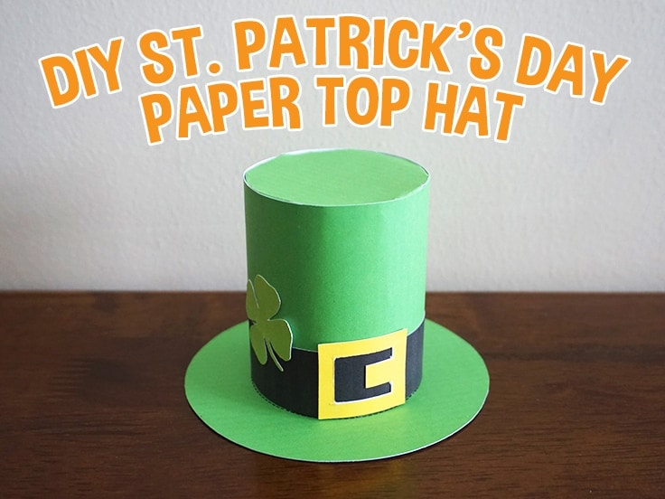 Top Hat Craft for Kids