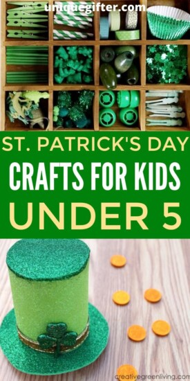 St. Patrick's Day Crafts for Kids Under 5 | Kids Crafts For St. Patrick's Day | Awesome Craft Ideas For Kids | Children's Kids Craft Ideas | #crafts #kids #stpatricksday #awesome #creative #easy #uniquegifter