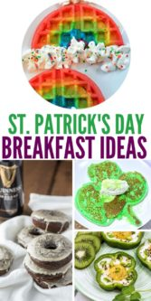 Easy St. Patrick's Day Breakfast Ideas | St. Patrick's Day Food | St. Patrick's Day Recipes | Easy Food For St. Patrick's Day | #stpatricksday #irish #breakfast #green #fun #playful #recipes #food #uniquegifter
