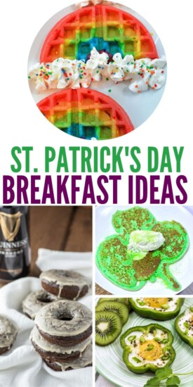 Easy St. Patrick's Day Breakfast Ideas   St. Patrick's Day Food   St. Patrick's Day Recipes   Easy Food For St. Patrick's Day   #stpatricksday #irish #breakfast #green #fun #playful #recipes #food #uniquegifter