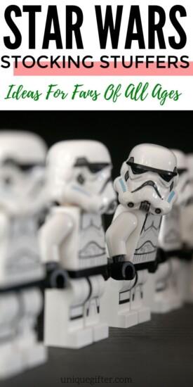 Best Star Wars Stocking Stuffer Ideas for Fans of All Ages   Star Wars Fan Gifts   Stocking Stuffers For Star Wars Fans   #gifts #giftguide #presents #starwars #uniquegifter