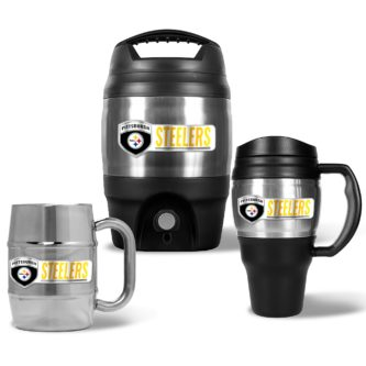 Steelers coffee cups