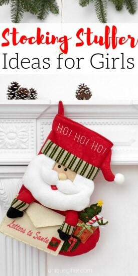 Best Stocking Stuffer Ideas for Girls   The Best Gifts For Girls   Creative Girl Gifts   Stocking Stuffers That Your Daughter Will Love   #gift #giftguide #presents #stocking #christmas #uniquegifter