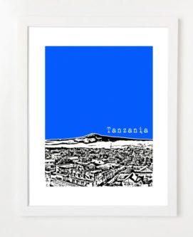 Stylish Tanzania Poster