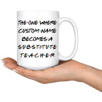 """Substitute """"Friends"""" Mug"""