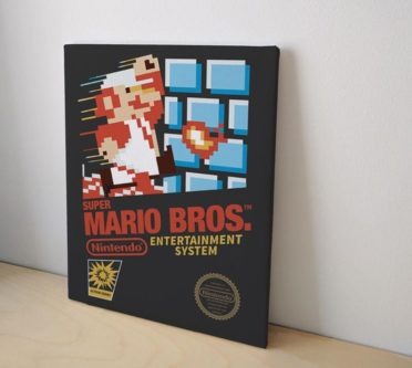 Super Mario Bros Canvas Art