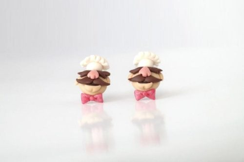 Swedish Chef Handmade Earrings