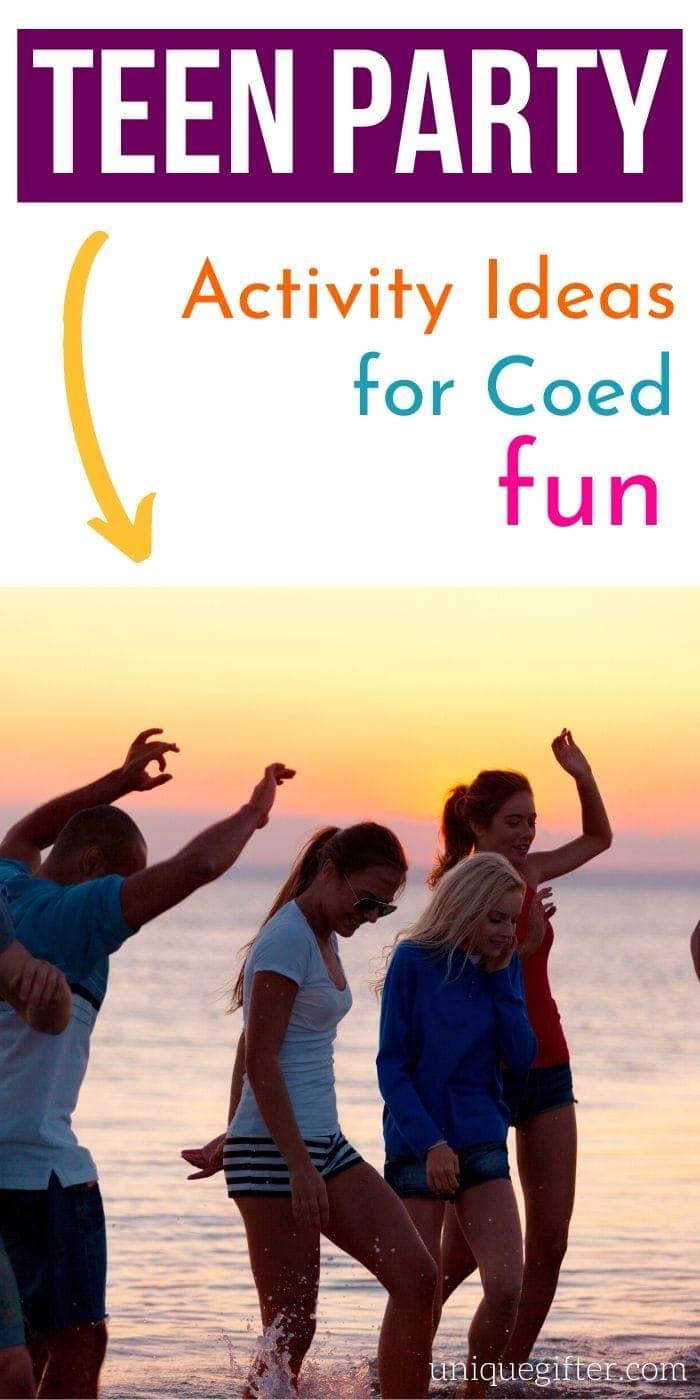 Teen Party Activity Ideas for Coed Fun | Teen Party Fun | Creative Ideas For Teens | Teen Party Ideas To Entertain Them | #teens #party #coed #fun #entertainment #activity #uniquegifter