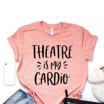 Everyone will know what their cardio is with this gift ideas for a broadway/musical theatre lover!