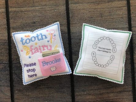 cute tooth fairy pillow best stocking stuffer ideas for kids