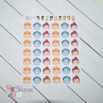 Tsum Tsum Planner Stickers