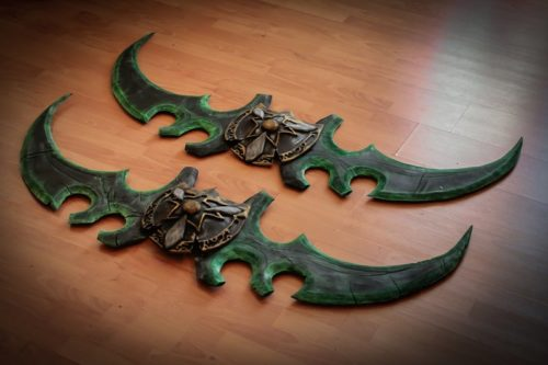 Twin Blades of Azzinoth Replica (World of Warcraft)
