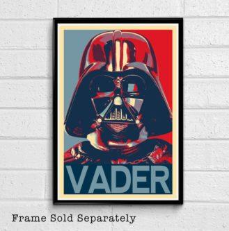 Vader Obama Print