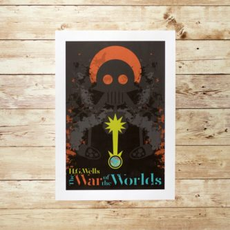 War Of The Worlds Print