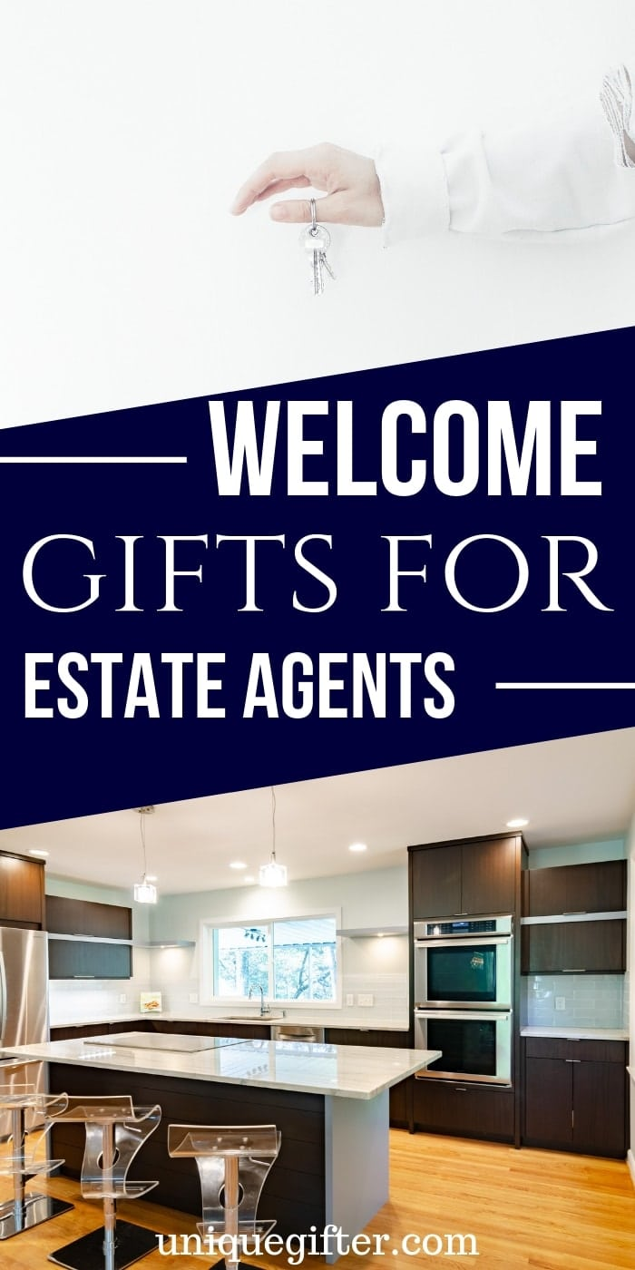 Best Welcome Gifts for Estate Agents (UK Realtors) | Realtor Gifts | Creative Gifts For Estate Agents | Awesome Gifts For People Who Sell Real Estate | #gifts #giftguide #realestate #estateagent #gifts #uniquegifter