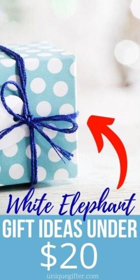 White Elephant Gift Ideas | Gift Exchange Ideas | Gifts Under $20 | $20 Gift Ideas | Gift Exchange Under $20 | Funny Gift Exchange Ideas | #giftexchange #giftidea #under$20 #whitelephant
